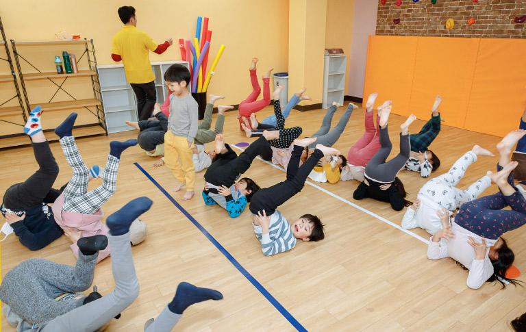 運動能力・知能発育サポート
